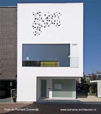 Casa residencial urbana moderna Minimalista