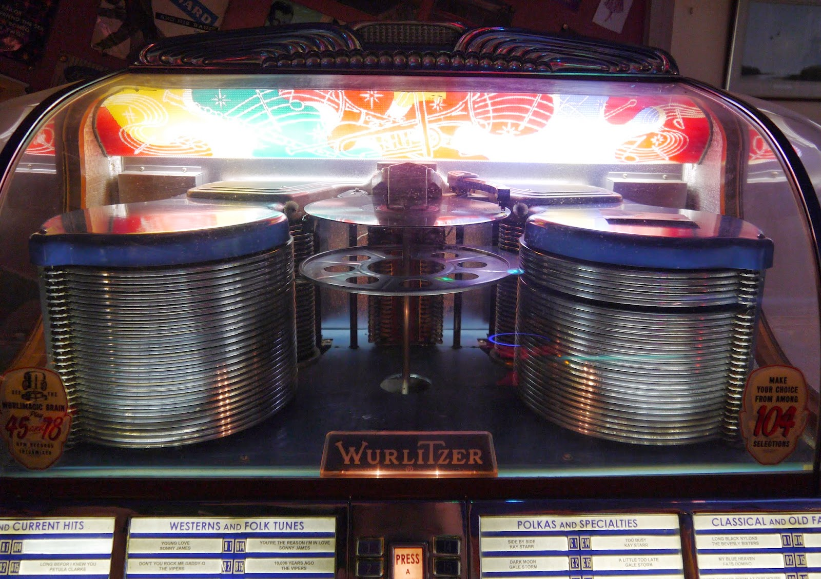 'Wurlitzer 1500' 1952 Jukebox