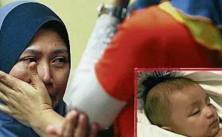 Bayi Azeem Rifhan Meninggal Dunia di Taska