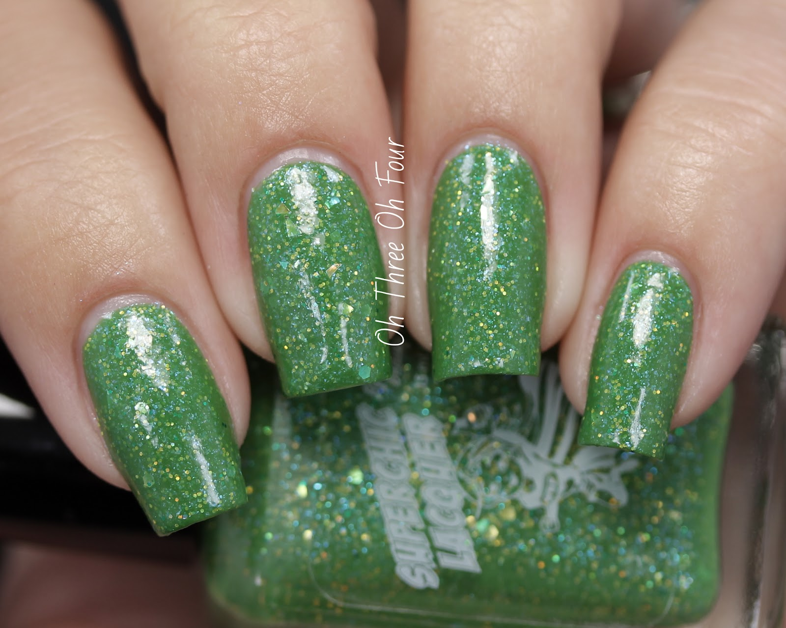 SuperChic Lacquer Never Grow Up Swatch