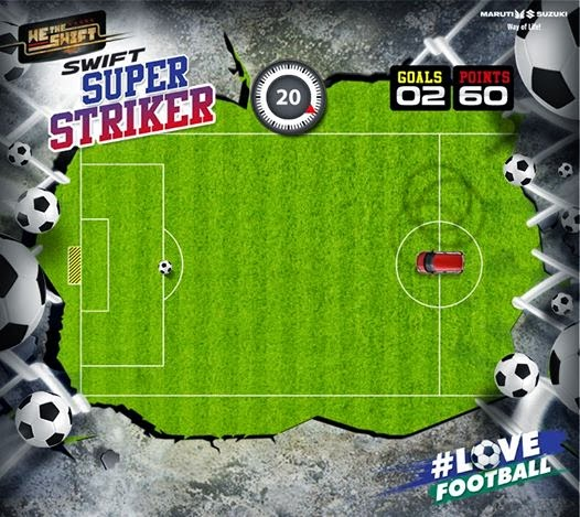 Play Swift Super Striker contest and Win Daily Jerseys, Sippers