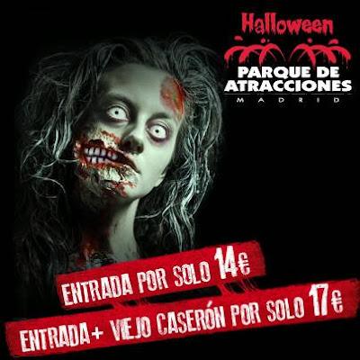 Halloween 2013 Parque de Atracciones de Madrid