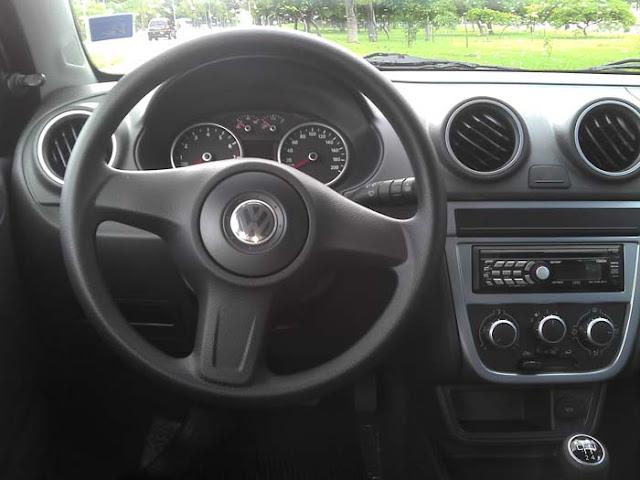 Volkswagen Gol G5 2011 1.0 Trend - posição de dirigir