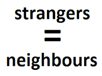 strangers = neighbours