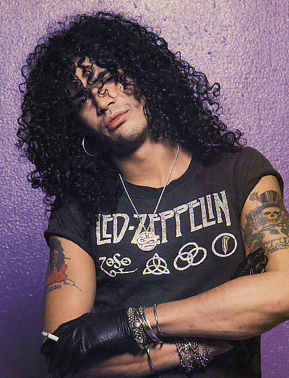 Music N' More: Slash: without the top hat and glasses