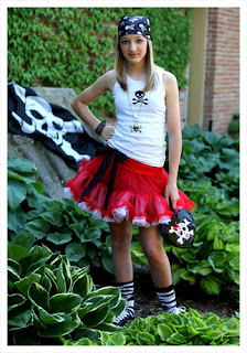 Pirate Teen tutu Skirt