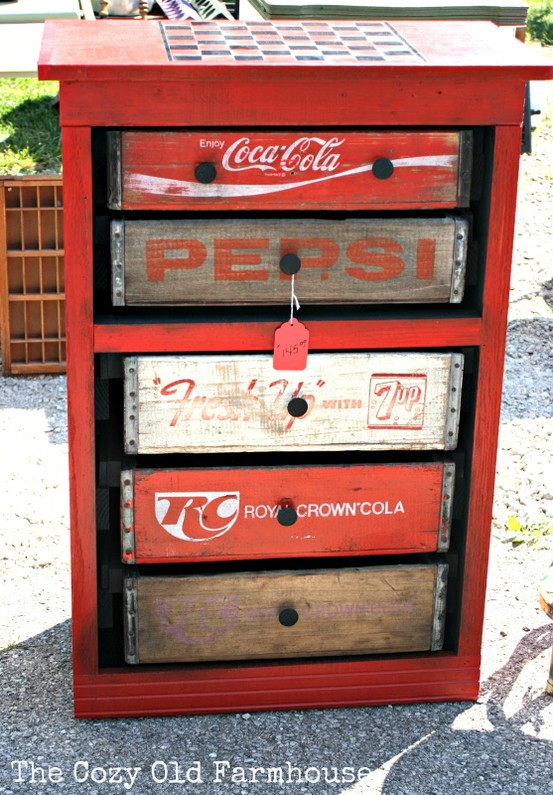 Take two interiors soda crate storage for Re storage crate