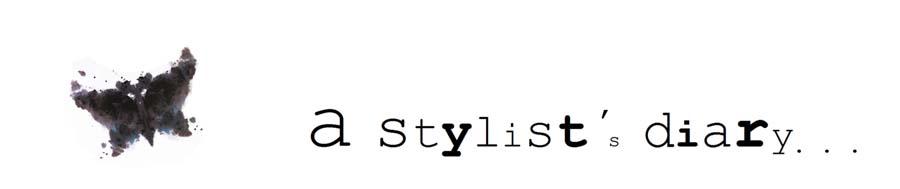 a stylist's diary
