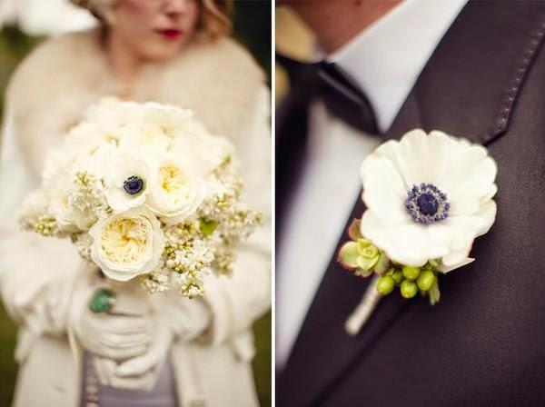 """Hoa cưới đẹp 1 màu """" ton sur ton"""" không hề đơn điệu4"""