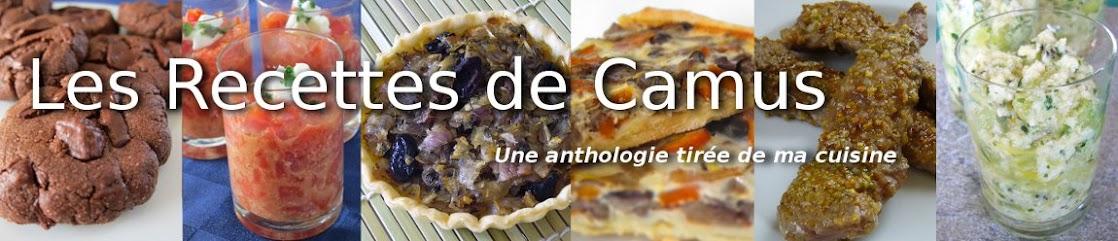 Les Recettes de Camus