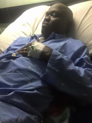 Obua GEJ's ex-Chief Security Officer Critically ill at National Hospital