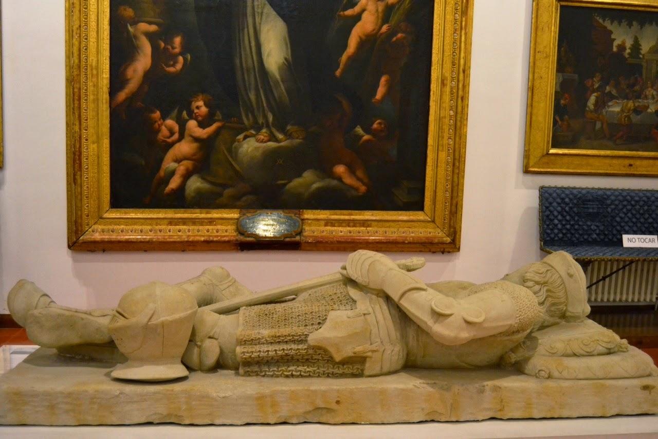 Orden de Malta: Caballero yacente (S.XVI) - Museo de Salamanca