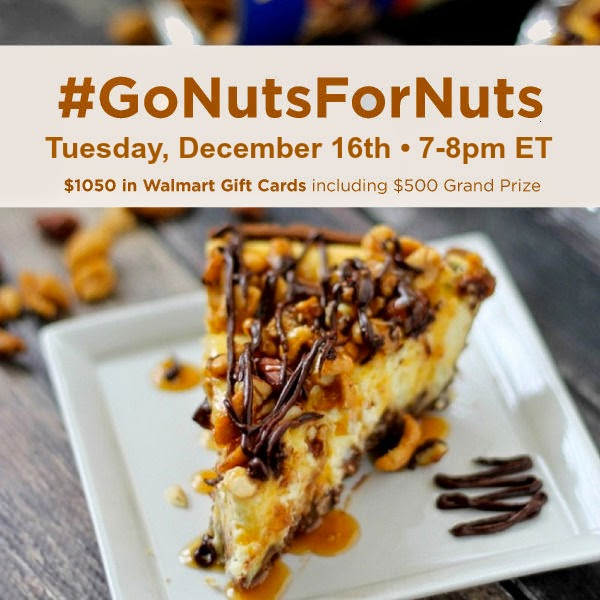 #GoNutsForNuts 12-16-14 7 PM ET
