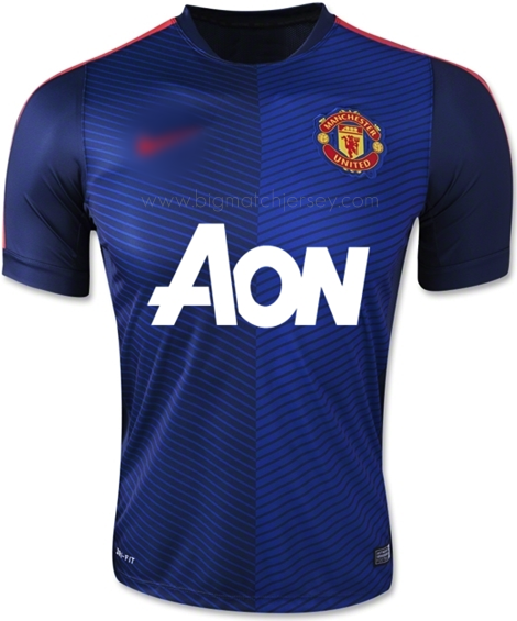 Manchester United Prematch Jersey 2015