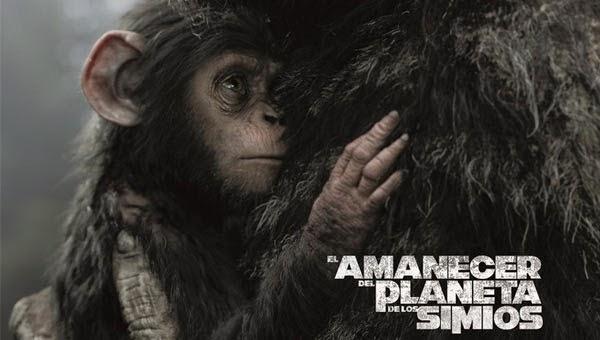 El amanecer del planeta de los simios, estreno 18 de julio