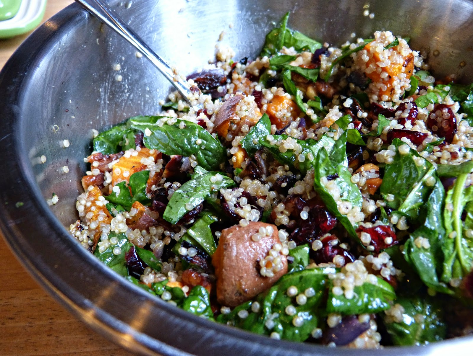 ... salad summer 3962 warm quinoa salad with 3 herb shiitake quinoa salad