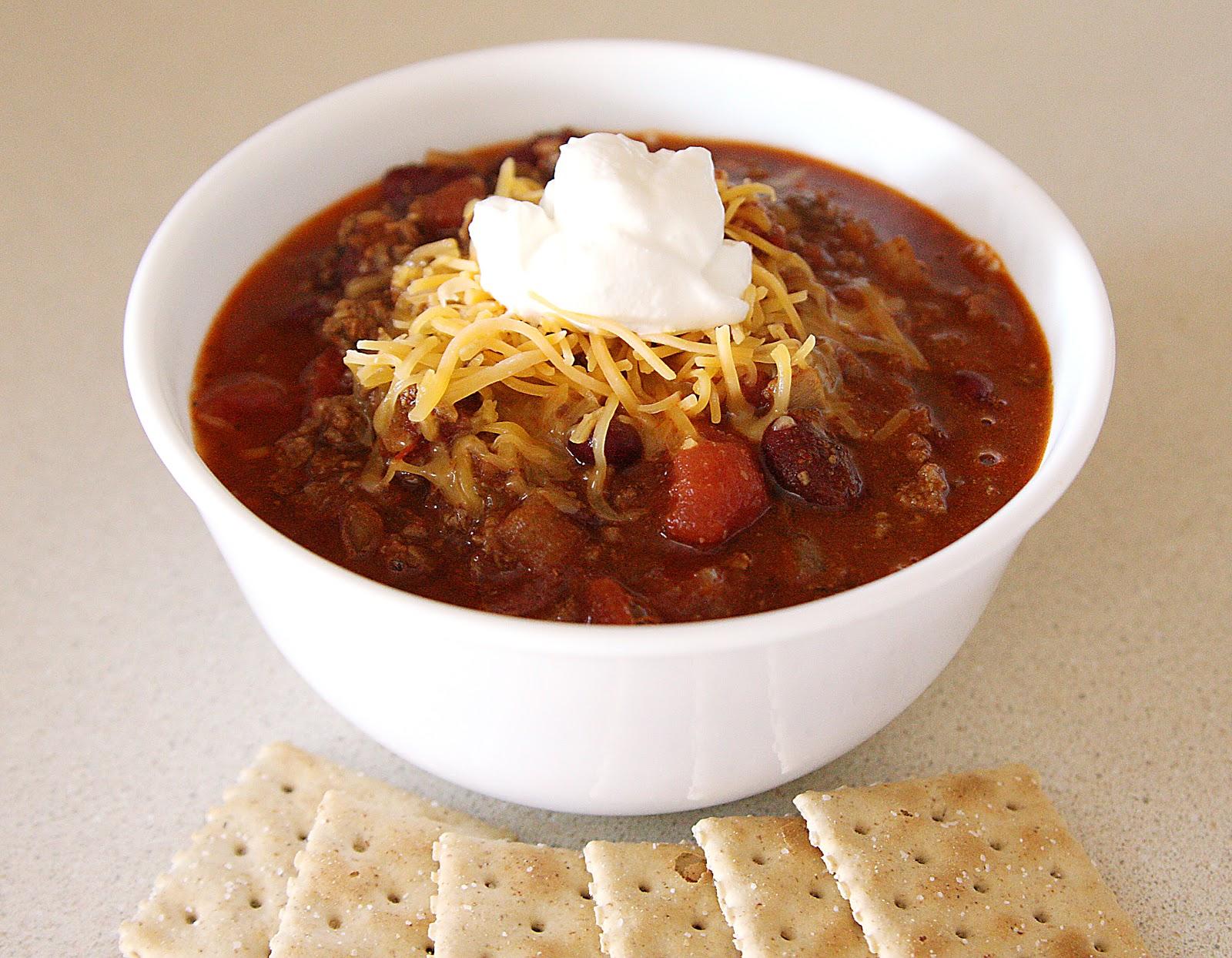 Mom's Chili Beans Recipe — Dishmaps