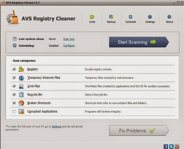 Скачать AVS Registry Cleaner 2.3.5.262 ML/RUS. Информация о программе: Год