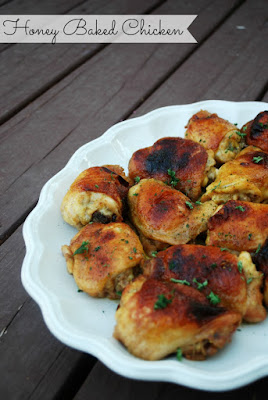 Honey Baked Chicken (The Gingered Whisk) - Awesome chicken!!! Great chicken for a dinner party! So delicious!