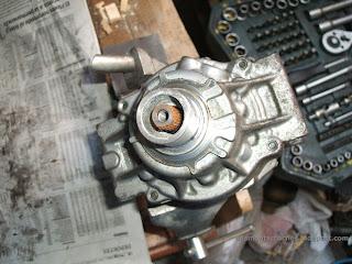 Carcasa del compresor aire acondicionado Toyota Corolla