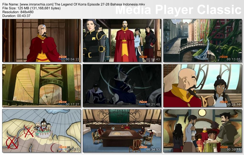 Download Film / Anime Avatar: The Legend of Korra Episode 27-28 Bahasa Indonesia