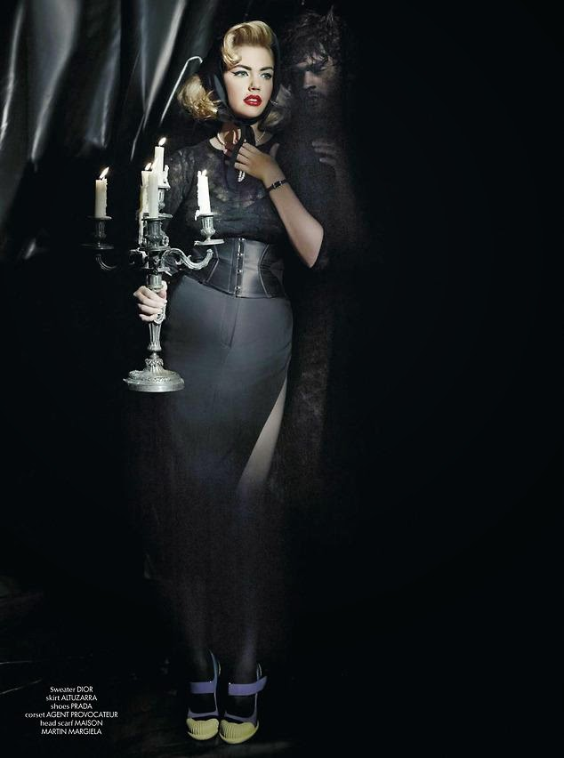 Kate Upton HQ Pictures CR Fashion Book Magazine Photoshoot Spring 2014 By Karl Lagerfeld