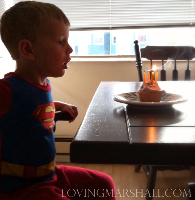Superman turns 4.