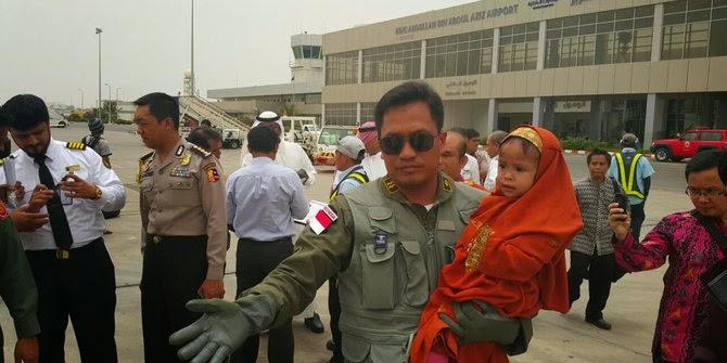 TNI AU evakuasi WNI dari Yaman