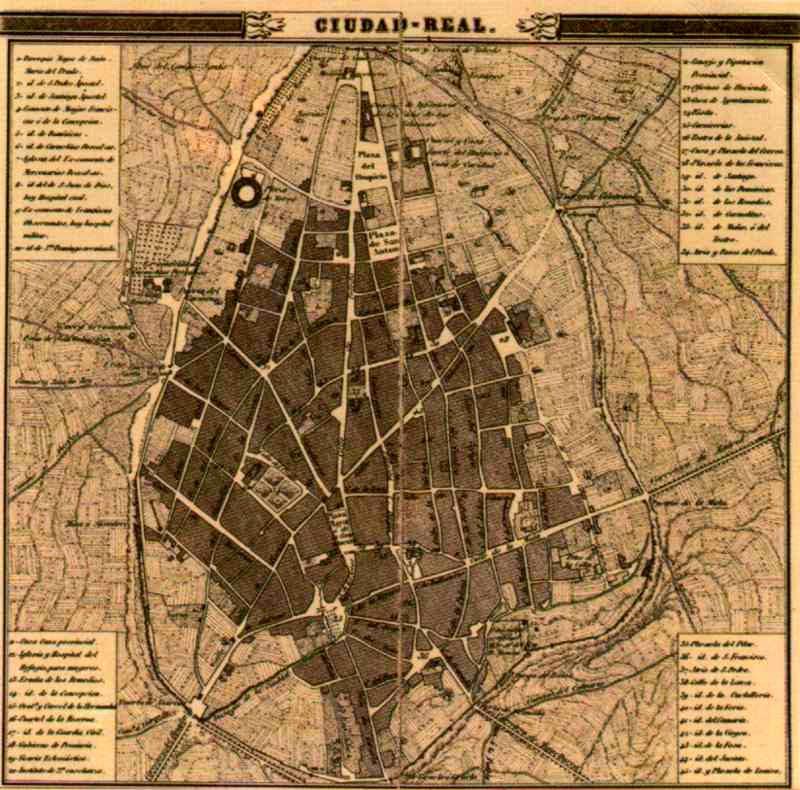 El sayon un plano de ciudad real del siglo xix - Plano de ciudad real ...