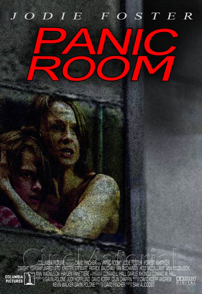 Poster of Panic Room 2002 720p Hindi BRRip Dual Audio Full Movie