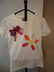 Camiseta Flor Colores
