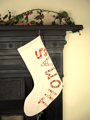 Personalized Christmas Stocking ByElsieB