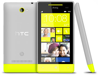 htc windows phone 8s yellow