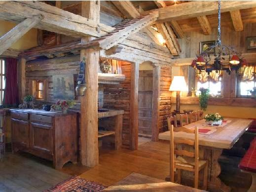 Il mio angolo nel mondo chalet di montagna gli interni for Interni di baite