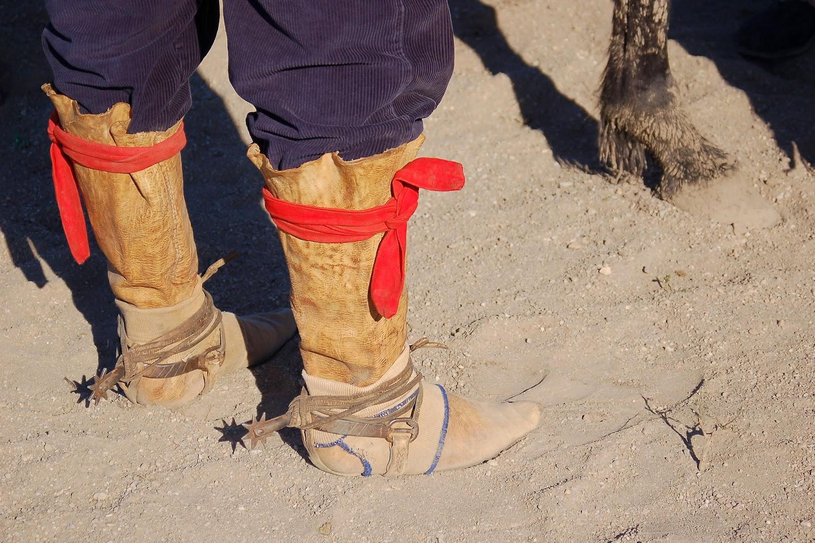 botas de potro