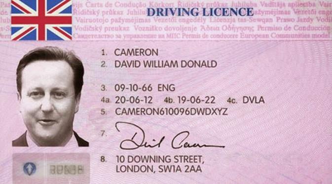 SIM Inggris