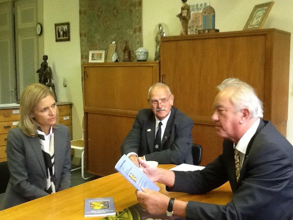 Bezoek Ambassadeur Denemarken aan onze Werkgroep 19 mei 2015
