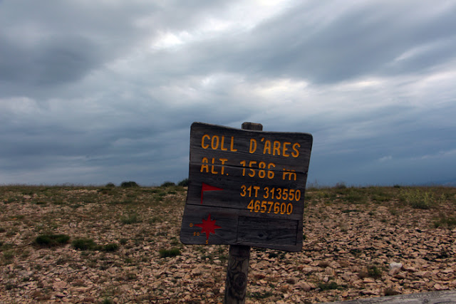 Coll d'Ares in der Nähe von Agullo