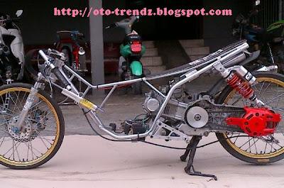 kumpulan modifikasi mio drag 300cc