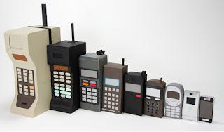 Evolução dos celulares