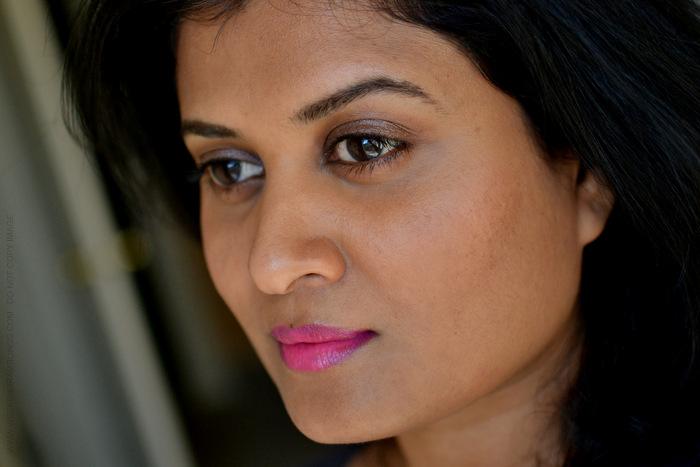 Urban Decay Makeup Revolution Lipstick Anarchy Indian darker Skin Beauty Blog Swatches Photos