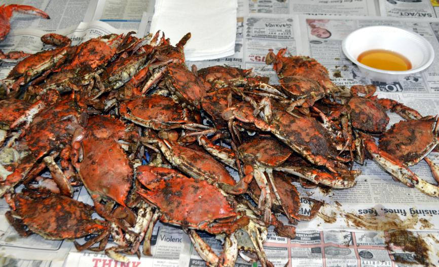 Obsessive Compulsive BarbecueSteamed Blue Crabs!