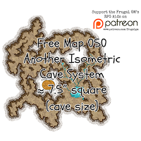 Free Map050: Another Isometric Cave System