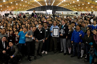 'Guinness Record' en robótica educativa - Bogota