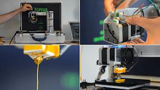 Printer PopFab 3 Dimensi Ukuran Hanya Sebuah Koper