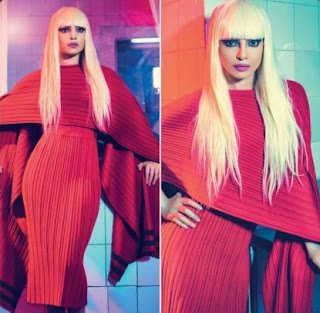 Priyanka Chopra Copies Lady Gaga for L Official India August 2015 Magazine