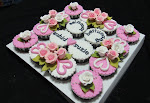 Cup cake Hantaran   ( Fondant )