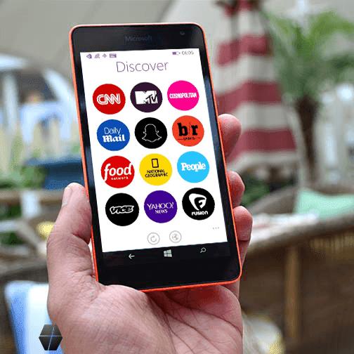 6discover app on Lumia