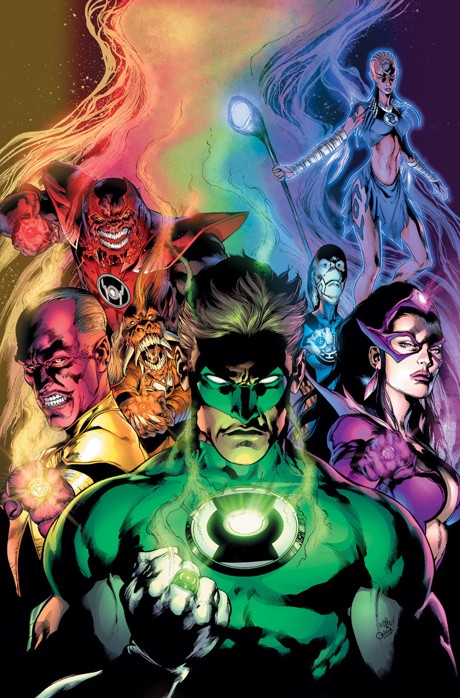 Green lantern ring comic - photo#16