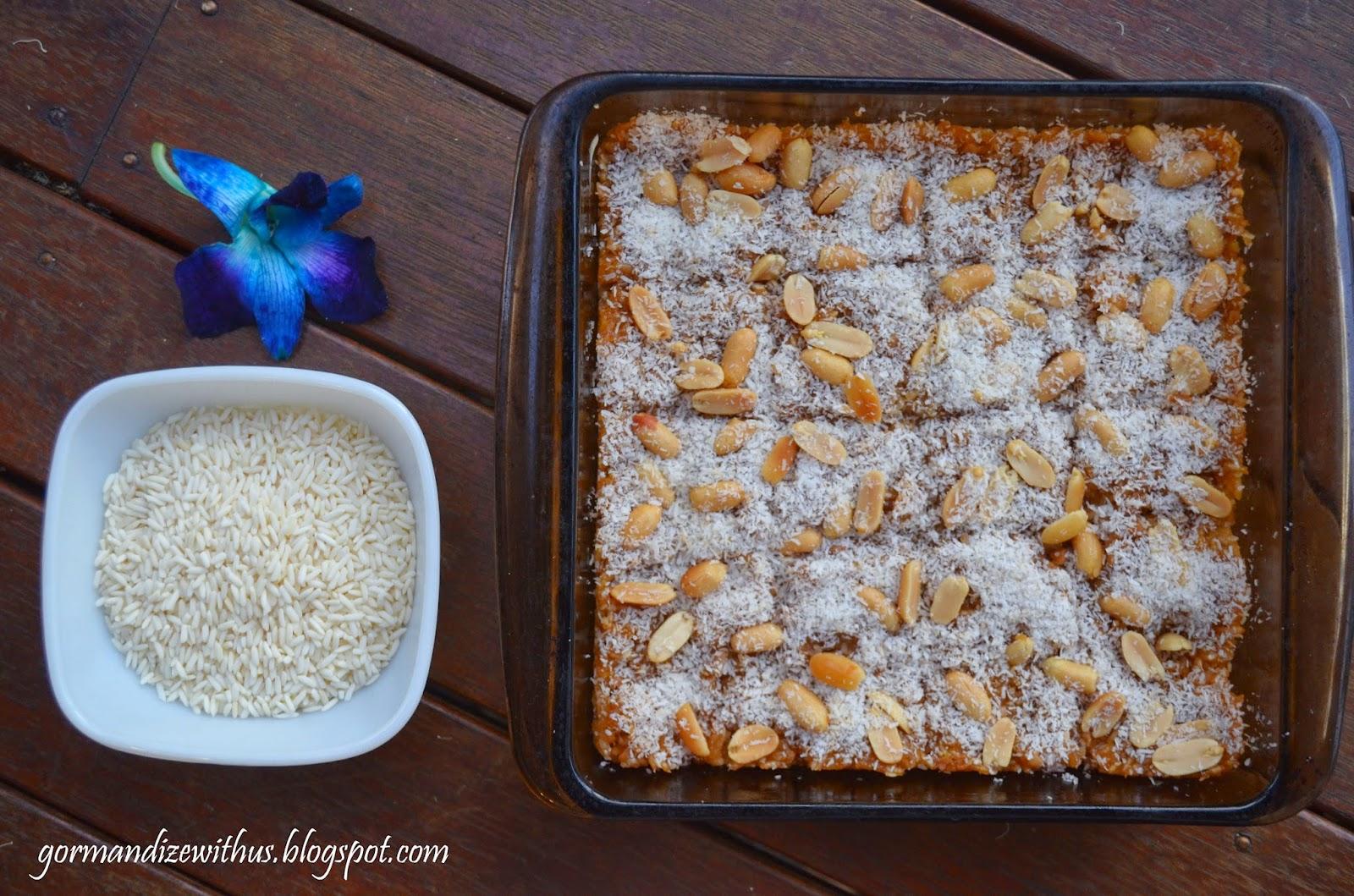Gormandize burmese sticky rice cake this month im featuring vegan recipes from myanmar burma forumfinder Images